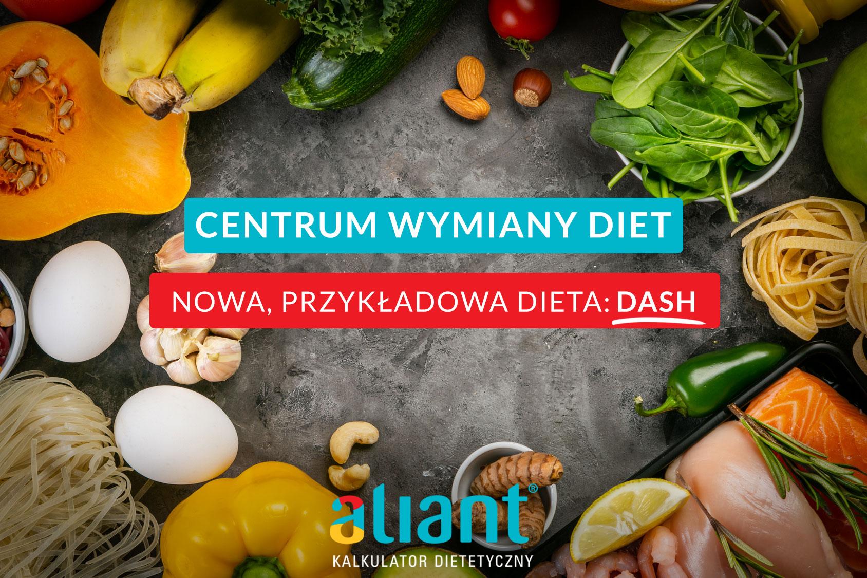 Nowa przykładowa dieta – DASH