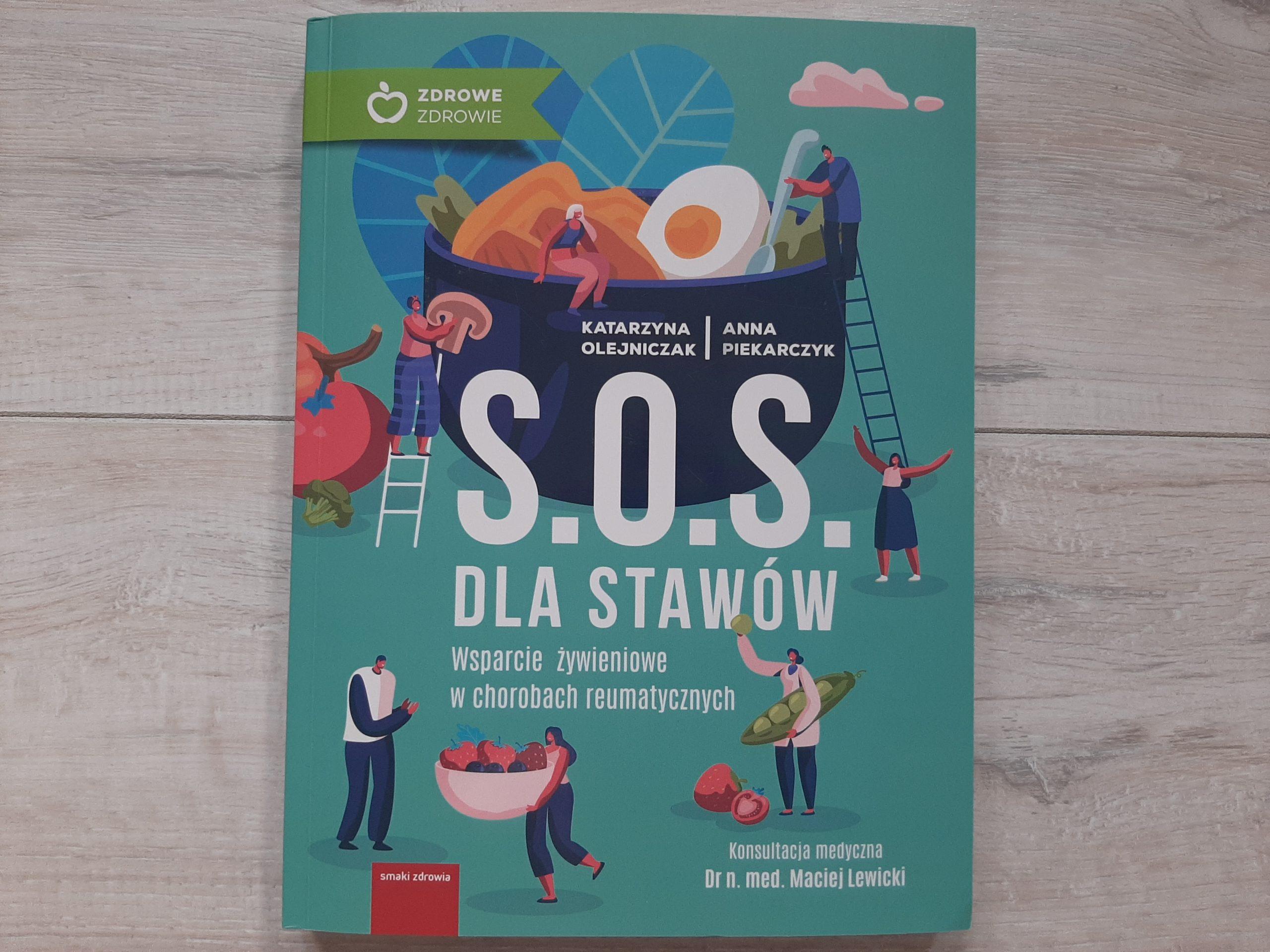 """S.O.S. dla stawów – książka """"must have"""" nie tylko dla pacjenta"""